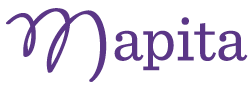 Mapita Logo Purple